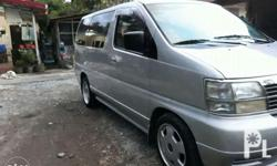 1999 Nissan Elgrand for Sale Good Engine Condition Fuel