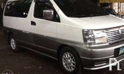 Nissan Elgrand 2005 arrived in Phils., 4x2, Automatic
