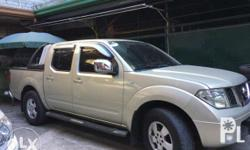 Nissan Navara LE A/T 2009 Diesel fuel efficient Fresh