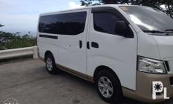 nissan NV350 2015 model 15 to 18 seater Manual tranny