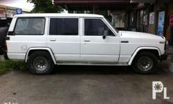 Nissan patrol 4x4, running condition, aircon, issue