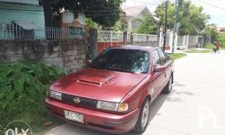 For Sale Nissan Sentra Eccs 92 model All power