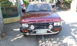 We are up for sale our Nissan Terrano 4X4 diesel Suv.