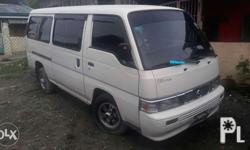 Nissan urvan escapade 2006mdl. White issue wala lng