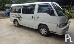 for sale Nissan Escapade Urvan manual 2007 model