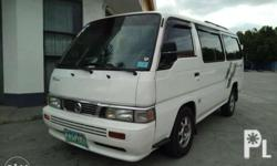 for sale nissan urvan escaped 2.7 diesel private use