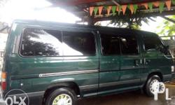 Good day everyone. I am selling my Nissan Urvan MT