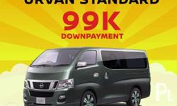 Nissan urvan manual Down payment base on 20%:99,000 All