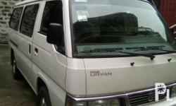 Nissan Urvan shuttle 2012 Polar white 1st owner Cool
