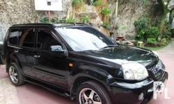 NISSAN X-TRAIL 250X FEATURES: -2004 Model -4x2 -Lady