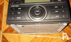 AM/FM radio for your Nissan Xtrail With CD player.