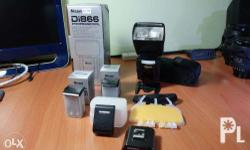 Nissin Di866 Professional High Power Flash For Nikon