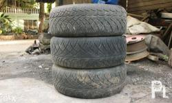 Brand: Nitto Model: NT420S No. of Pcs: 3 Tires Only