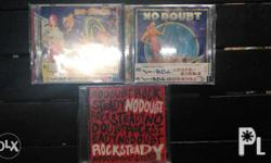No Doubt Original Albums (Japan import and Philippines)