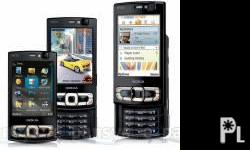 Deskripsiyon For sale a 8 MB black nokia n95 from the