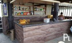 Our Beachbar is open every day, kubo Nipa huts