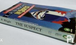Two books for Php 70. -- The Suspect by L.R. Wright --