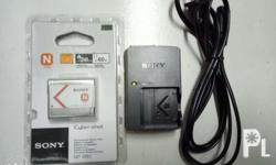 Sony Battery and Charger NP-BN1 (BC-CSN) Coolpix