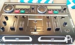 Numark Cd Mix 1 DJ mixer, brand new without box from