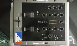 Brand new numark m2 mixer..actual pics posted never