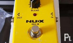NUX CH-3 Chorus In near mint condition Minimal paint