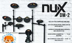 Brand New NUX DM2 Electronic Drum Set Contact Number On
