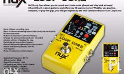 Brand New NUX Loop Core Contact Us In Our Mobile Number