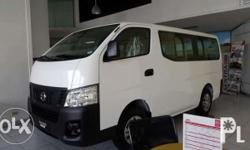All New Nissan NV350 !! All in Downpayment = php138K