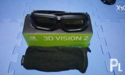 3d vision 2 wireless glasses complete with box on