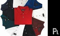 Deskripsiyon NWT LOT OF 6 *EDWARDS* brand Polo Shirts