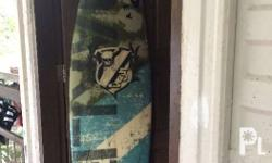 Oakley surfboard with flaws shown in pictures thisis