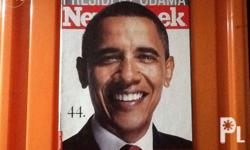 obama magazines magazines about obama all are in very