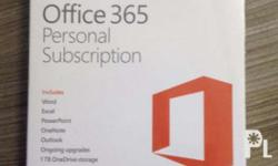 Office 365 Personal Subcription 1 YEAR NEW OR RENEWAL