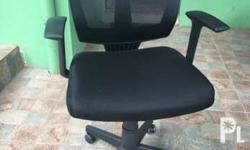 Office chair good as new. Hindi masyado nagamit noong