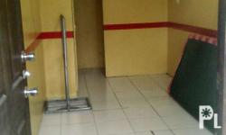 Studio type office free aircon with own cr 1m advance