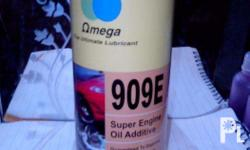 Omega 909 engine oil additive for gas and diesel