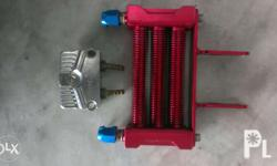Fs: Oil cooler for xrm 110 Good condition Fixed price