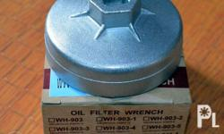 Oil filter Wrench Brand New Made in Taiwan Wolfs Head