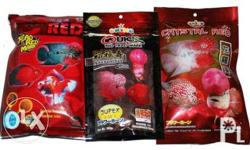 variety of okiko products for your LOUHAN(flowerhorn)