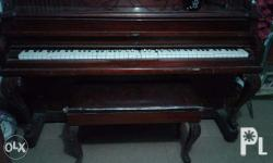old piano outer condition as per pic needs repair needs