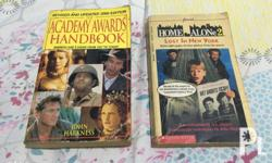 Selling as set. Books: - The Academy Awards Handbook