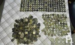 Lots of old coins 1944-1945 phil. Us. 5 centavos :1000