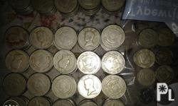 1972 Old Piso Coins - 273pcs 1974 Old Piso Coins -