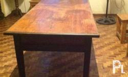 Old, Solid 1 whole piece, 8-seater Narra dining table,