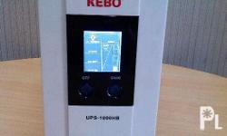 KEBO UPS-1000HB Power: 1000VA/700W True ONLINE PURE