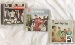 One Direction Albums (Up All Night, Take Me Home,