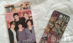 One Direction: Postcards/Stickers- 50 Pesos Keychain-