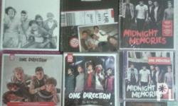 Selling my 1d cd's All cds are still available. Opened