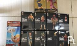 One Piece Collectibles for sale Dramatic Showcase set