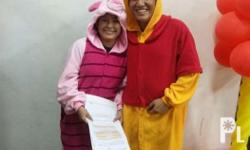 Php1,200 for each onesies character Get both for only